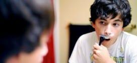 insegnare a radersi