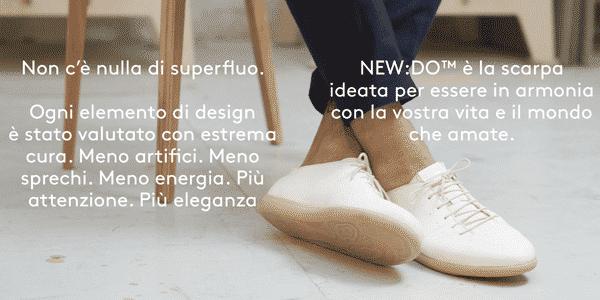 GEOX lancia NEW:DO la scarpa ecosostenibile al 100% Dojo Uomo